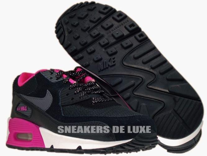 black pink white air max