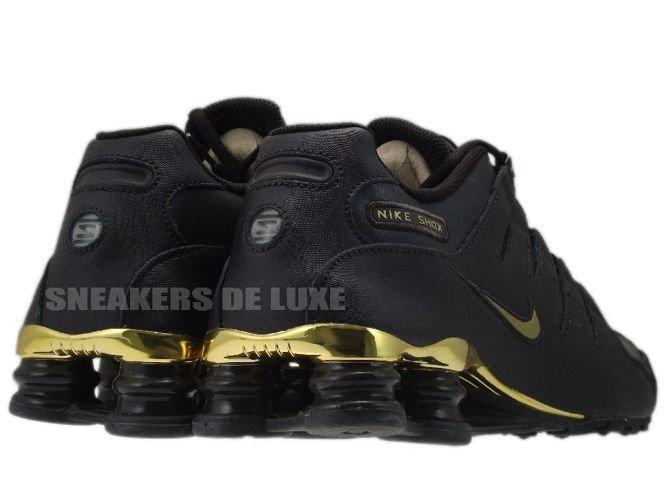 finest selection 1384f 99eb3 ... Schwarz Nike Shox Rivalry Brown Gold ...