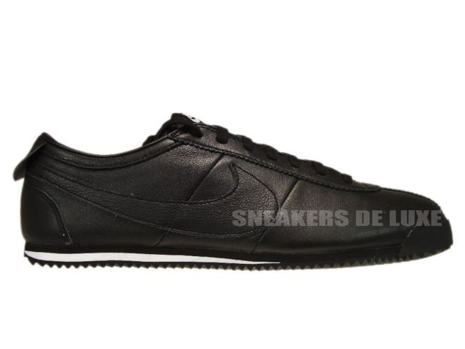 free shipping 8c113 75fac black leather nike cortez