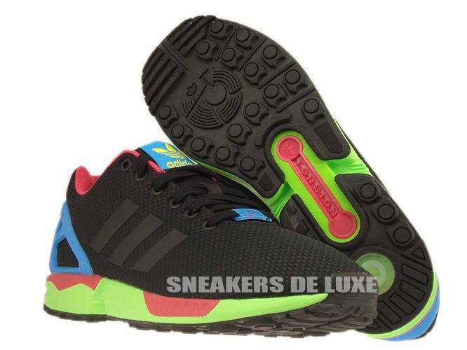 Adidas Zx Flux Solar Green