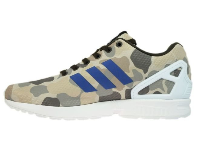 Buy adidas Originals ZX Flux NPS Trainers Black/Blue/Yellow