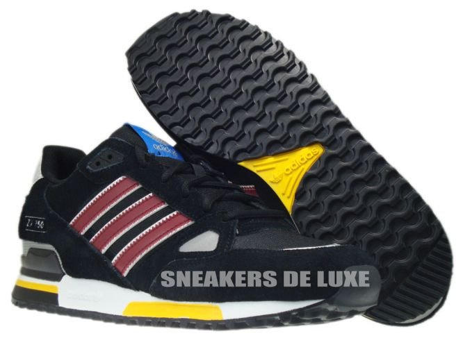 adidas zx 750 black blue white