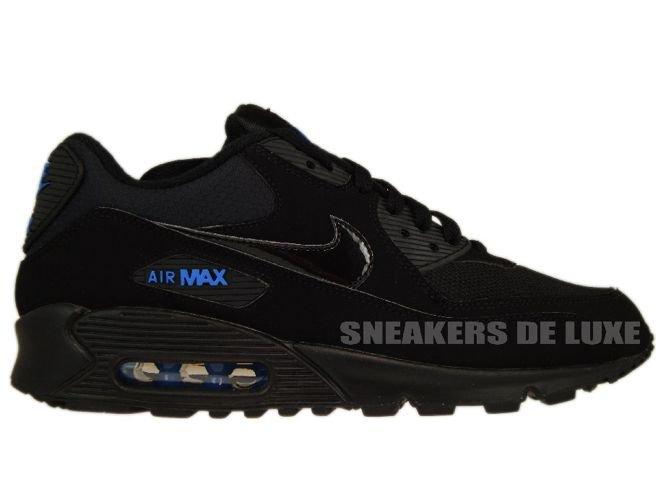 Nike Air Max 90 Black/Black-Blue Spark 309299-906 ...