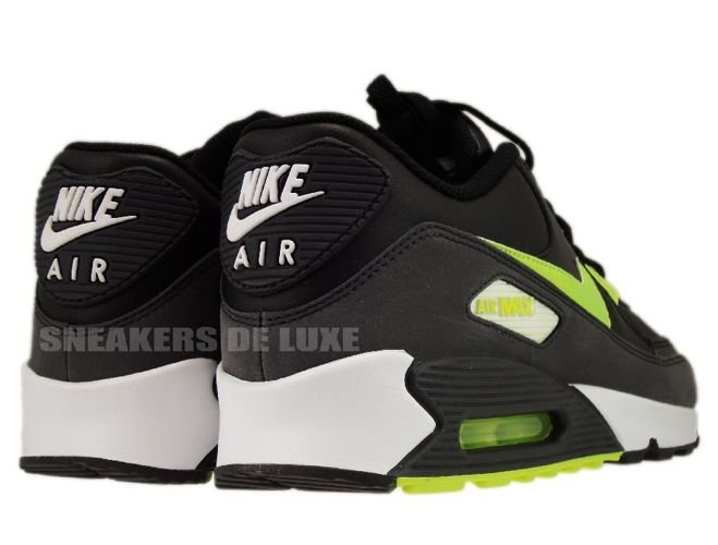 watch 420ad ba4ad Nike Air Max 90 BlackGreyLime 309299-073 .