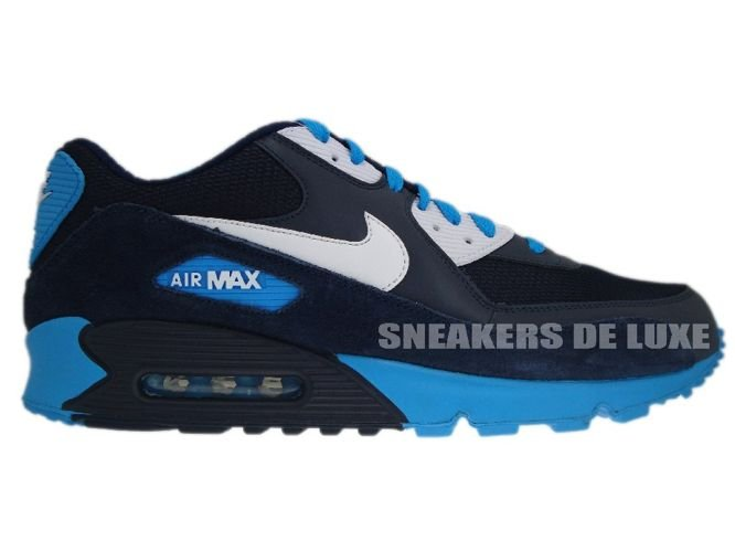 Air Max 90 White Blue Black