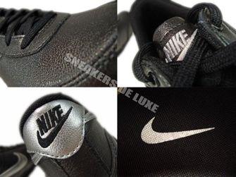 407894-001 Nike Metro Shox Black/Metallic Silver