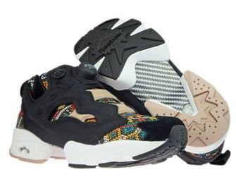 BD3095 Reebok InstaPump Fury GT Black/White/Dusty Pink