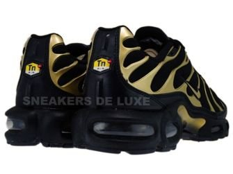nike air max tn black and gold