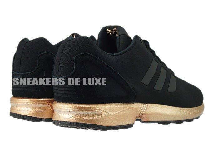 adidas zx flux dames zwart brons