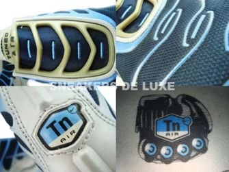 Nike Air Max Plus TN 1 Slip On Silver/Blue